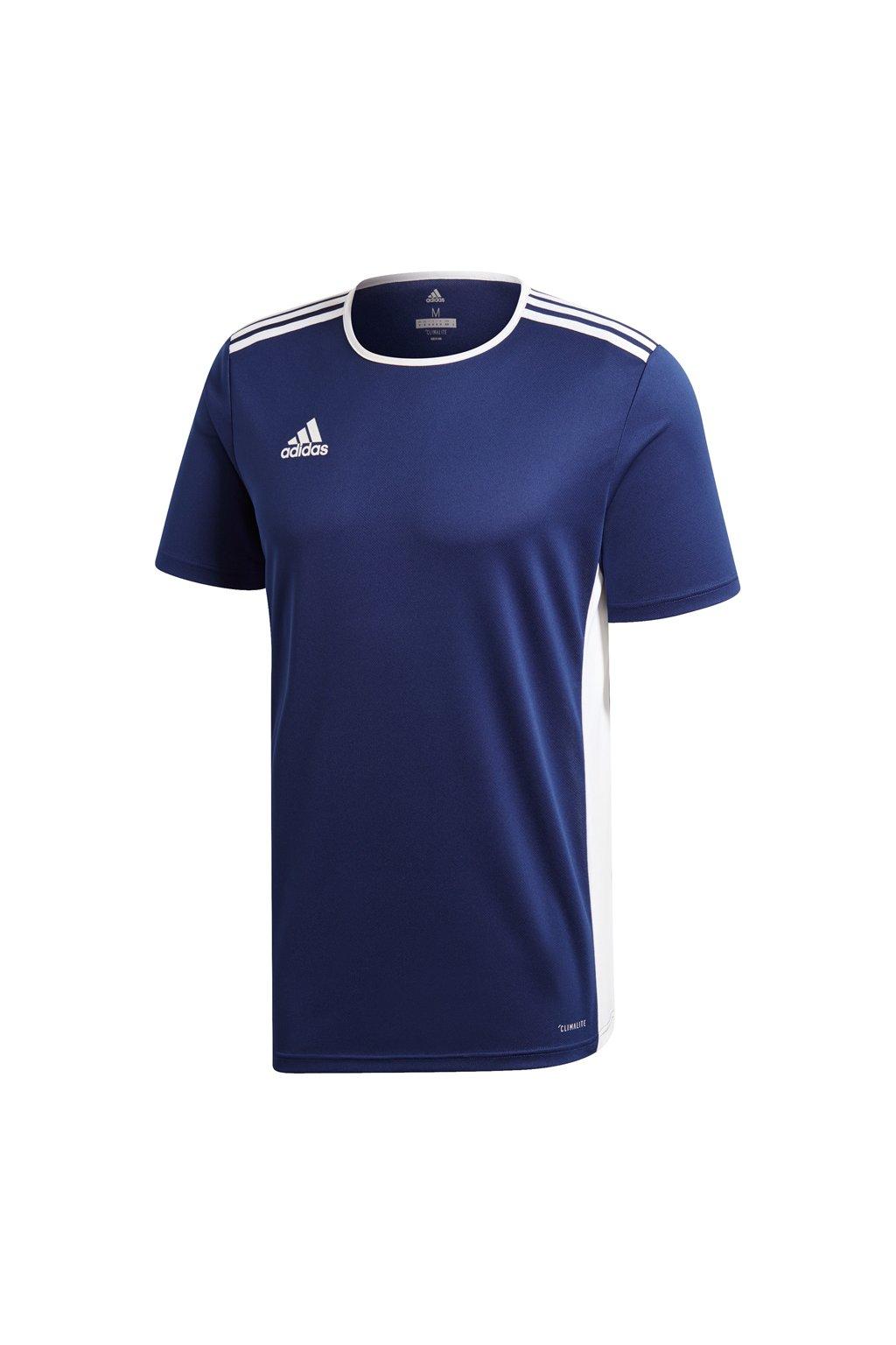 Detské tričko Adidas Entrada 18 Jersey JUNIOR námornícka modrá CF1036