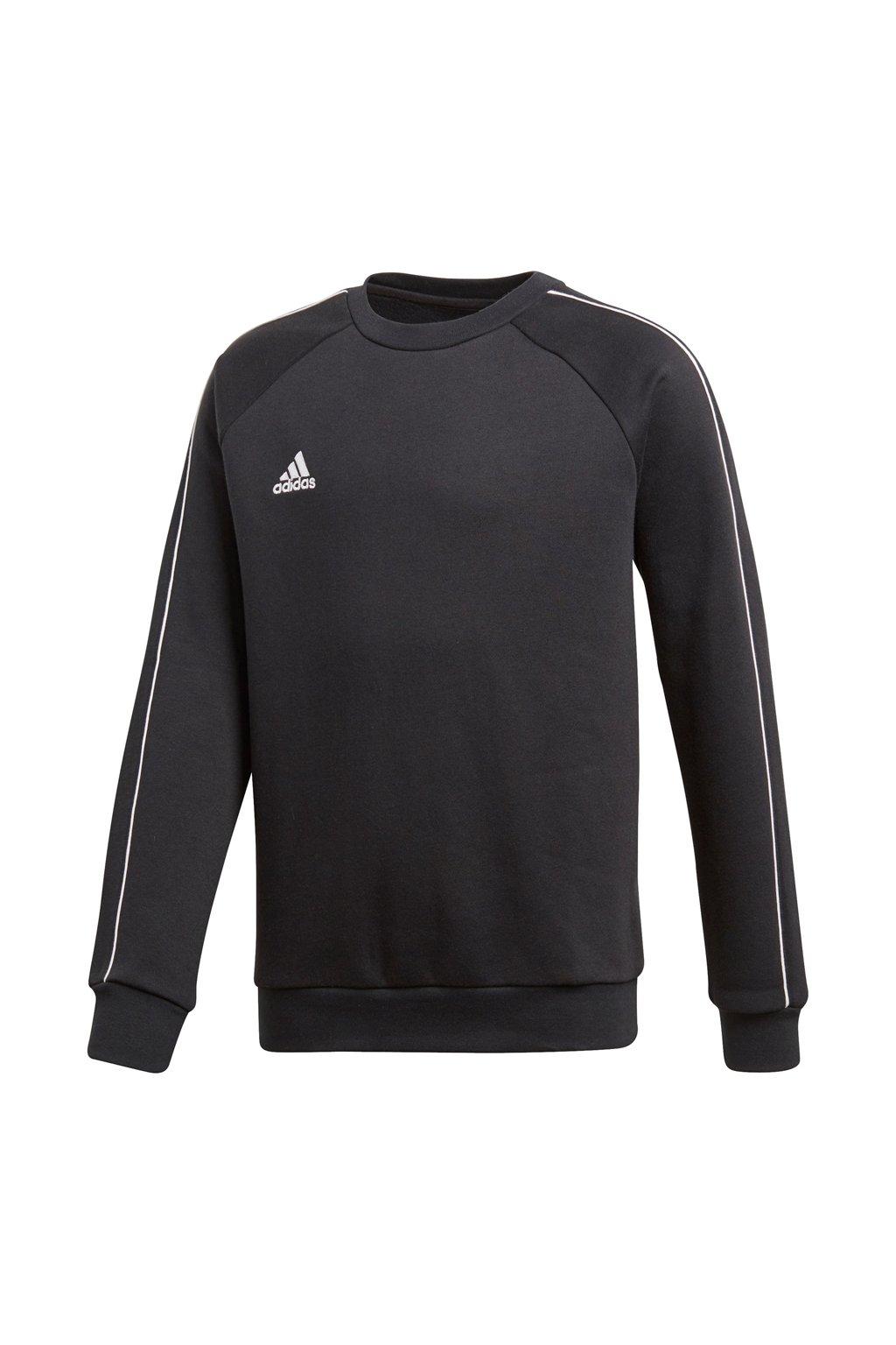 Detská mikina Adidas Core 18 Sweat Top JUNIOR čierna CE9062