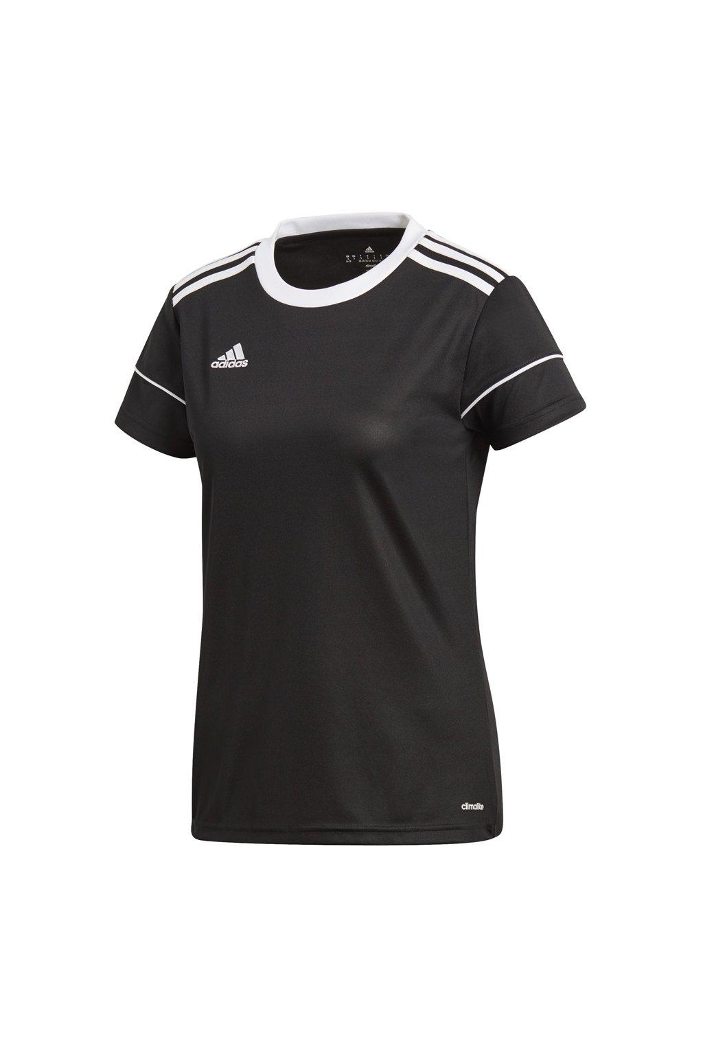Dámske tričko adidas Squadra 17 Jersey Women čierne BJ9202