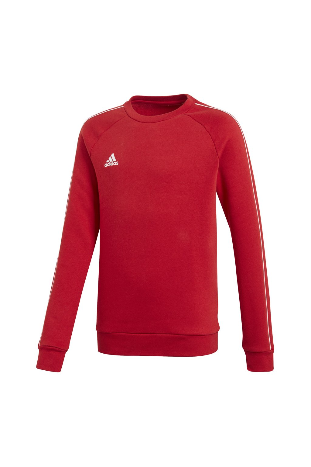 Detská mikina Adidas Core 18 Sweat Top JUNIOR červená CV3970