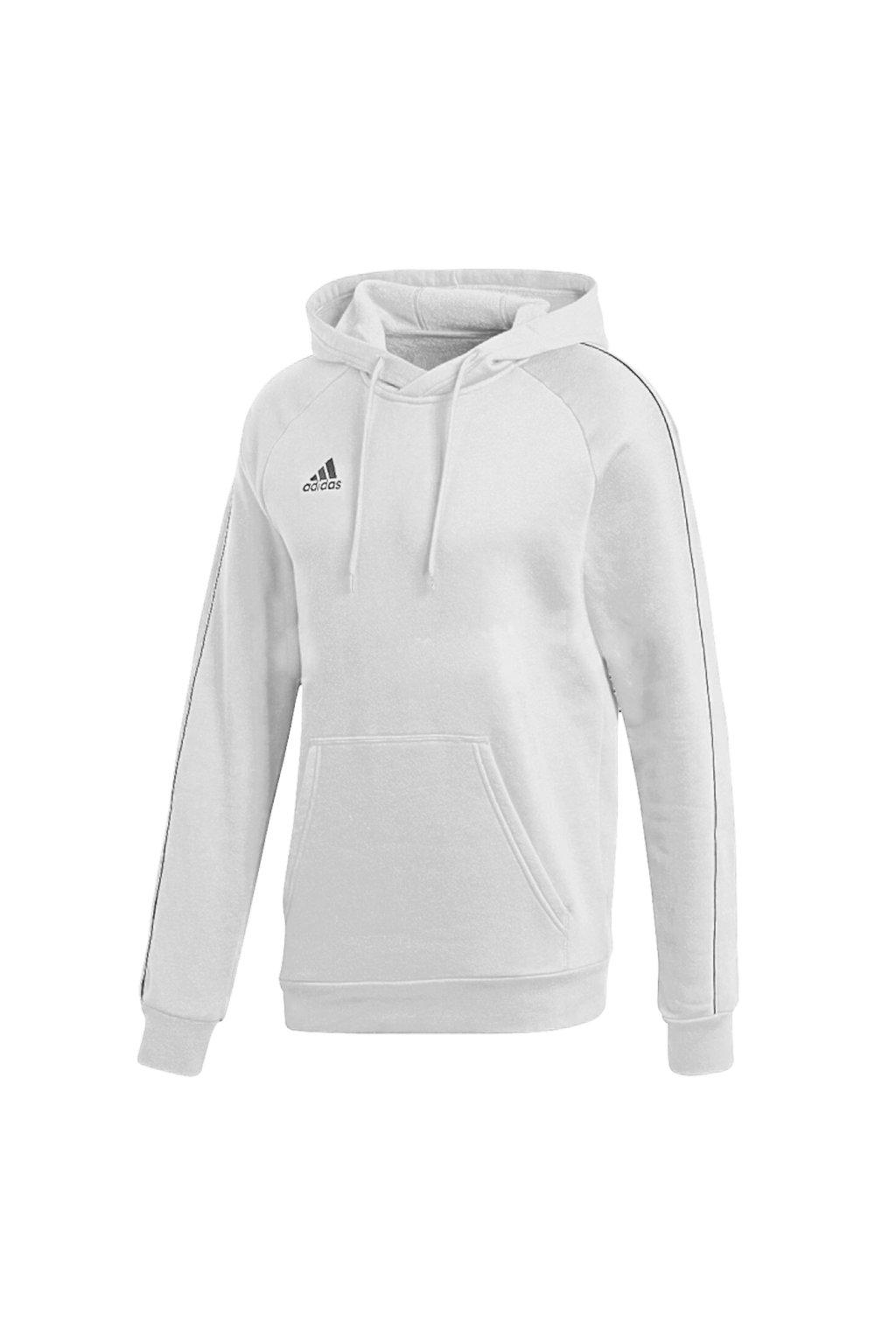 Pánska mikina Adidas Core 18 Hoody biela FS1895
