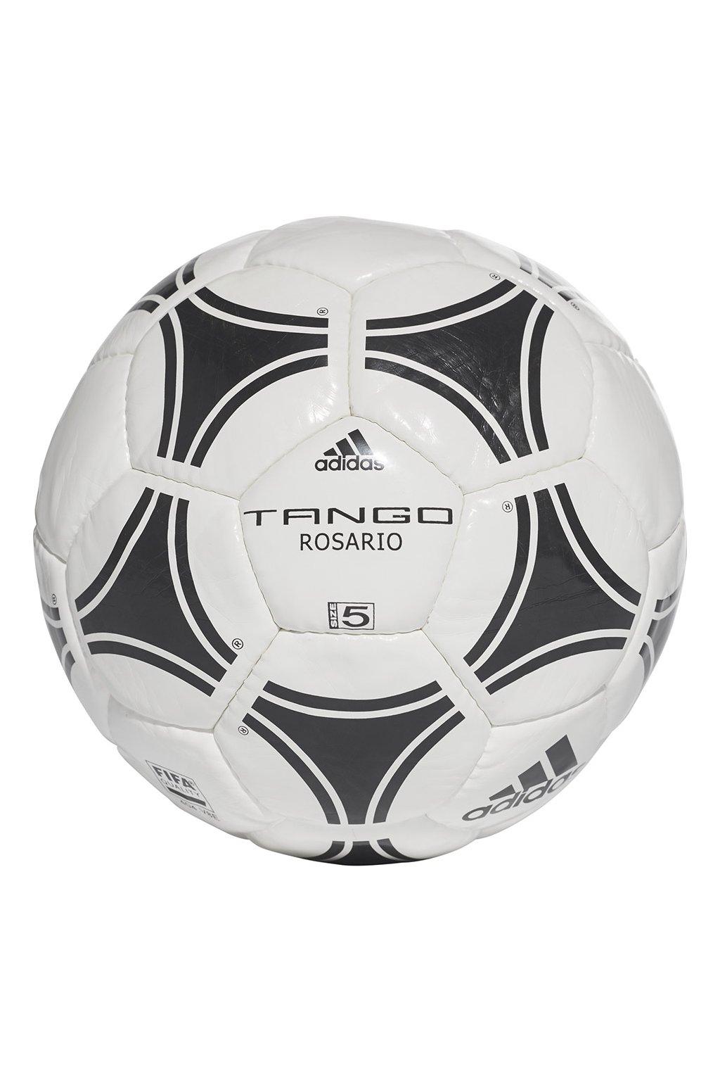 Futbalová lopta Adidas Tango Rosario FIFA 5 čiernobiela 656927