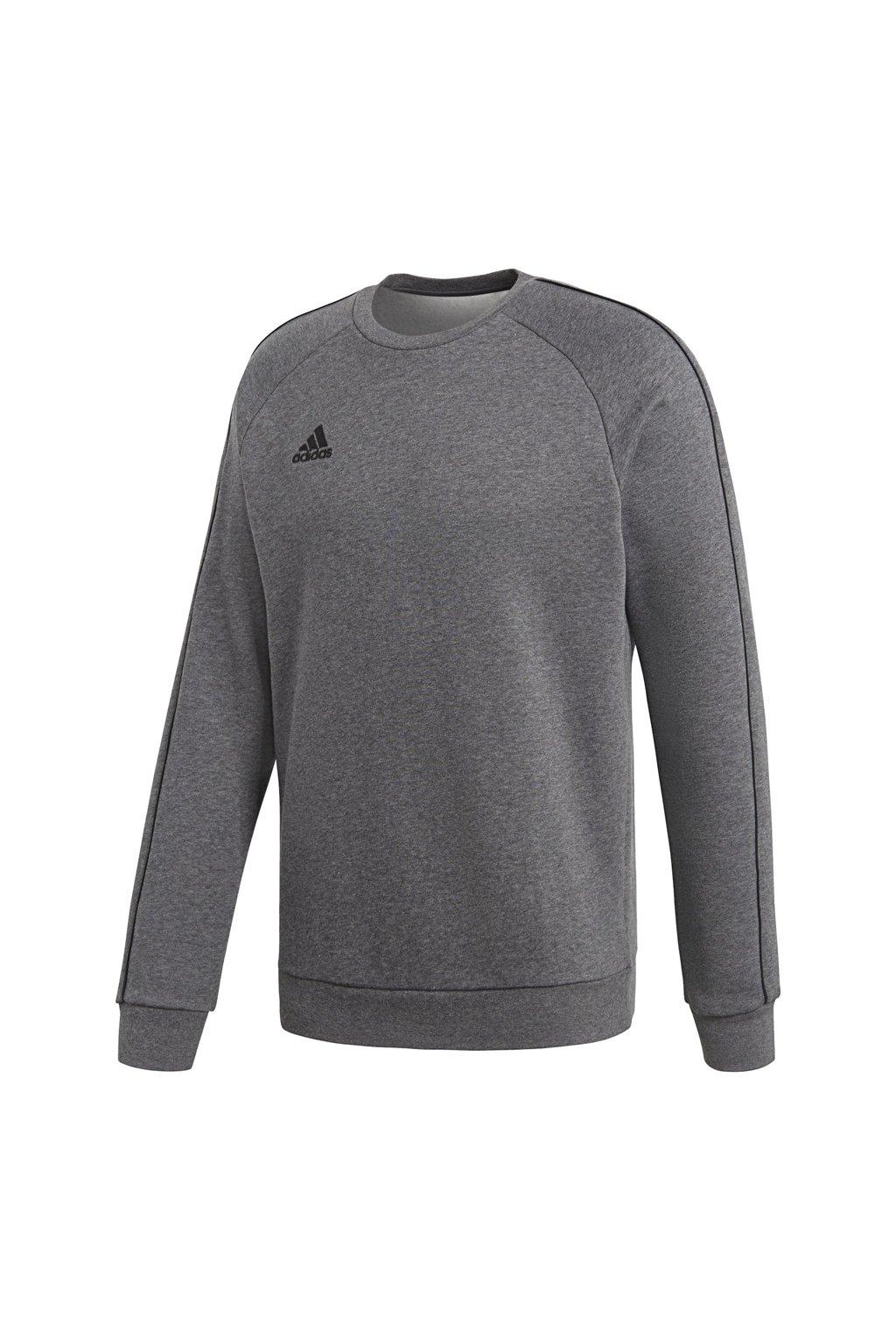 Pánska mikina Adidas Core 18 Sweat Top šedá CV3960