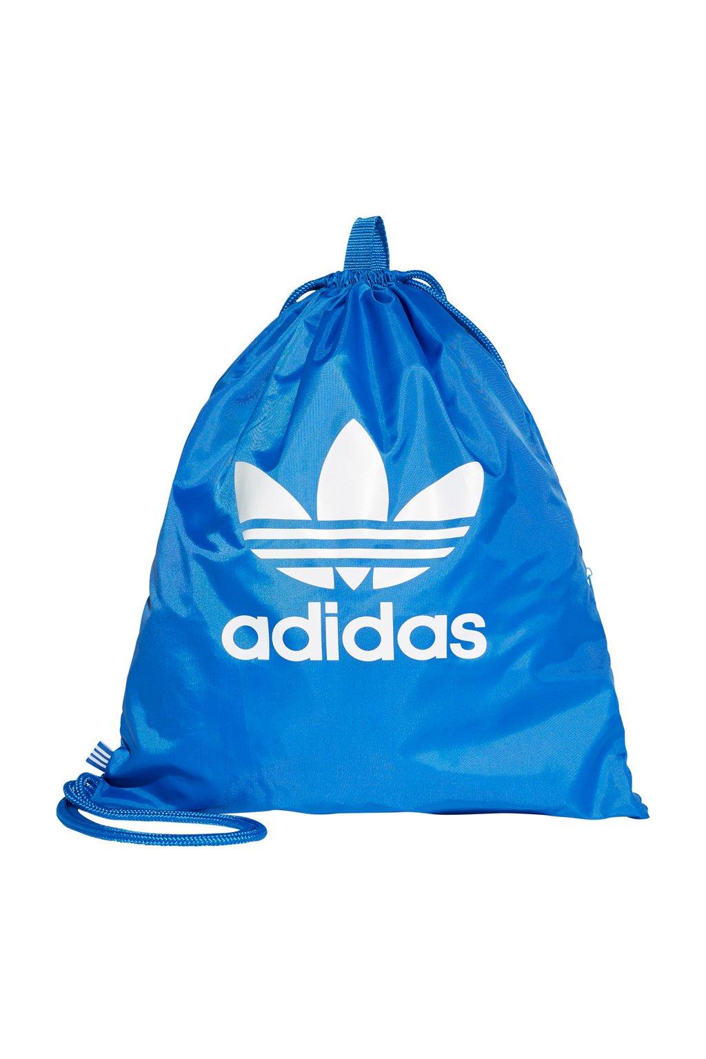 Športový vak Adidas Gymsack Trefoil blue BJ8358