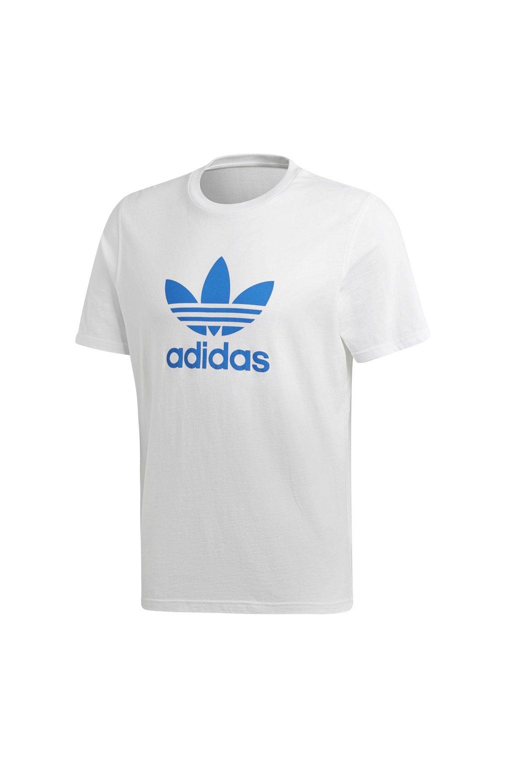 Pánske tričko Adidas Trefoil biele DH5774