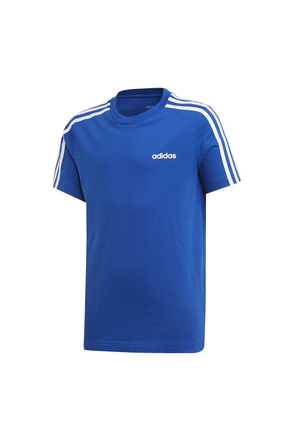 Detské tričko Adidas YB E 3S Tee, modré, EI7984