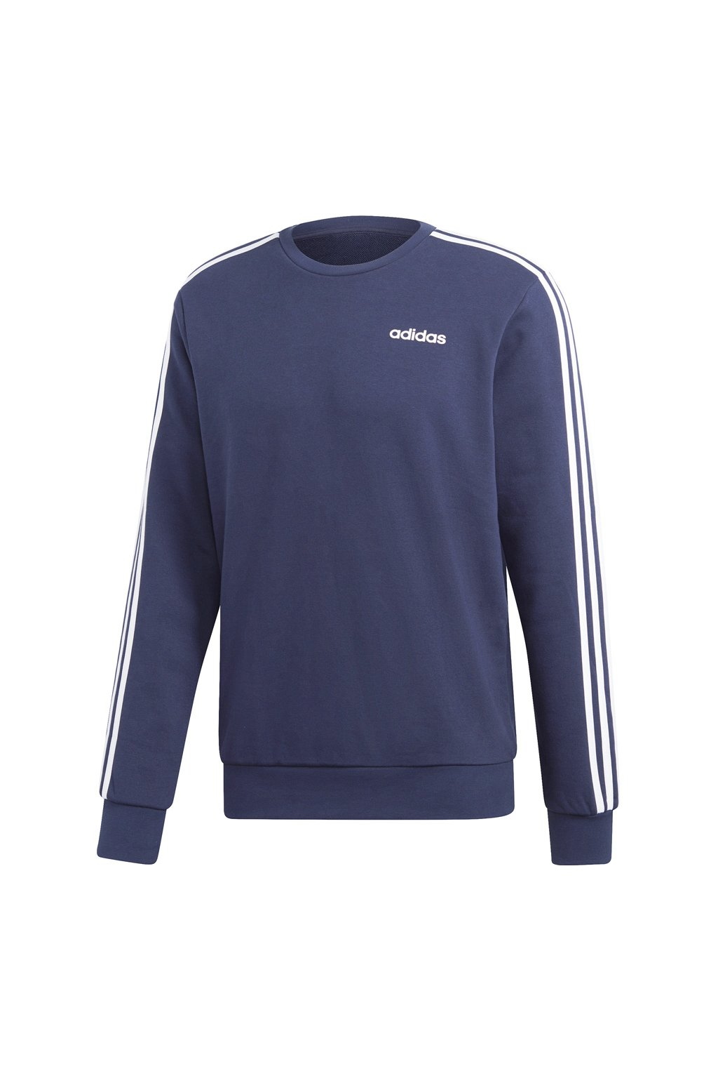 Adidas pánska mikina Essentials 3 Stripes Crewneck navy blue FT DU0484