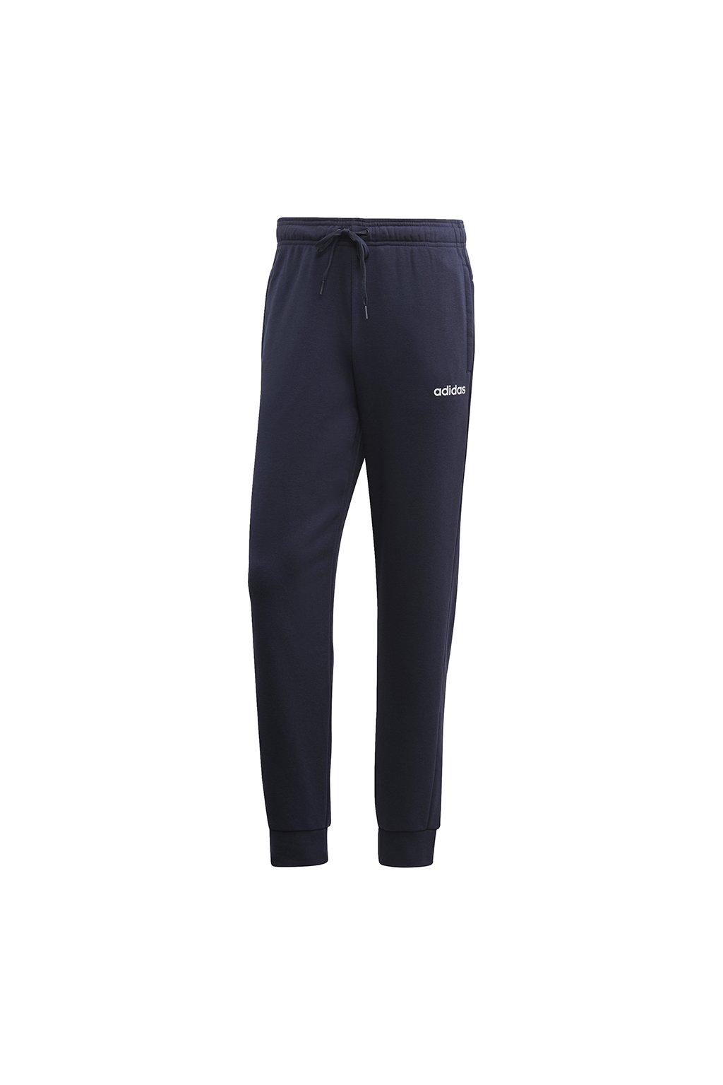 Pánske tepláky Adidas Essentials Plain Slim Pant FT tmavo modré DU0370