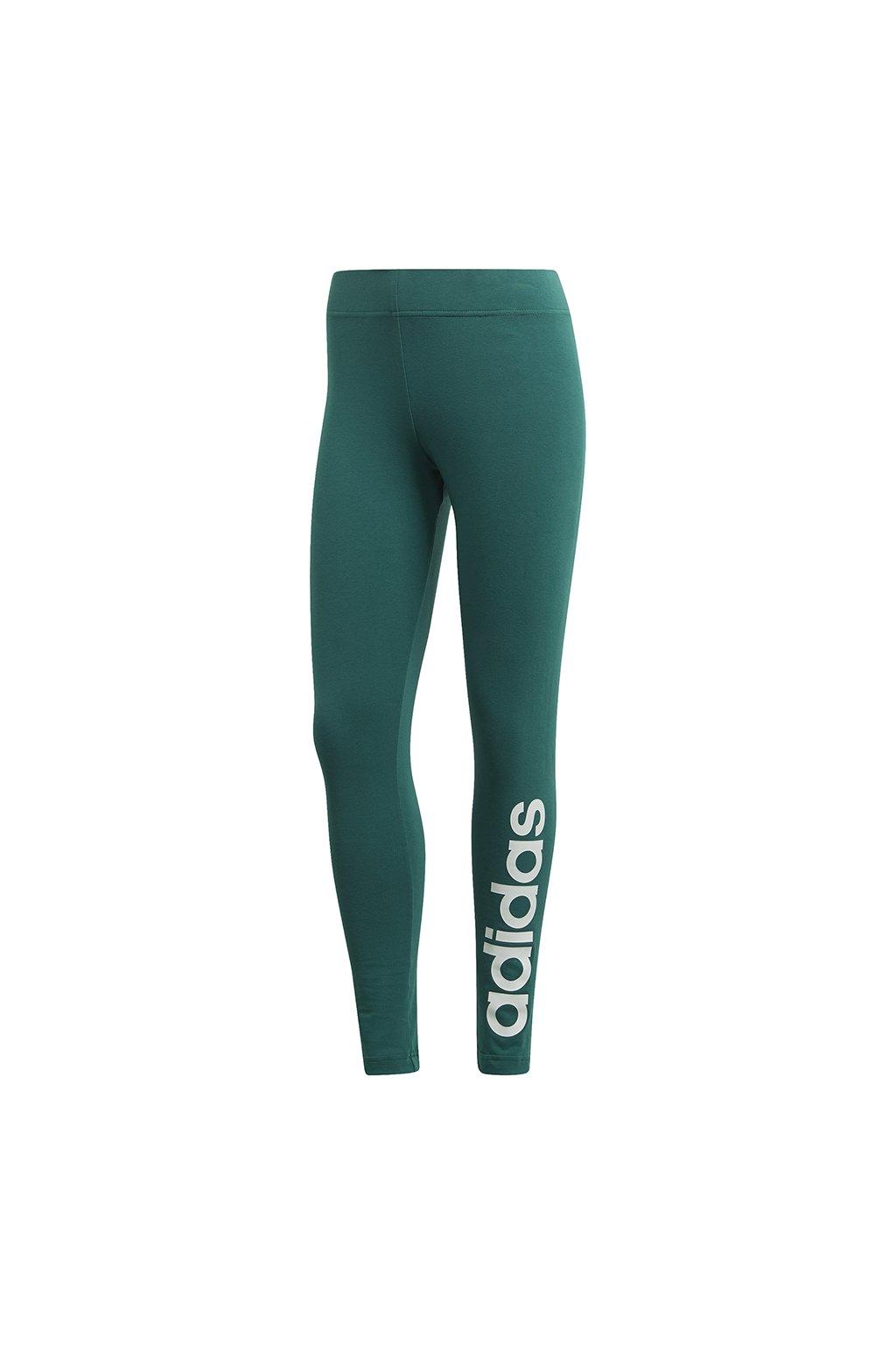 Dámske legíny adidas W Essentials Linear Tight Green FM6691