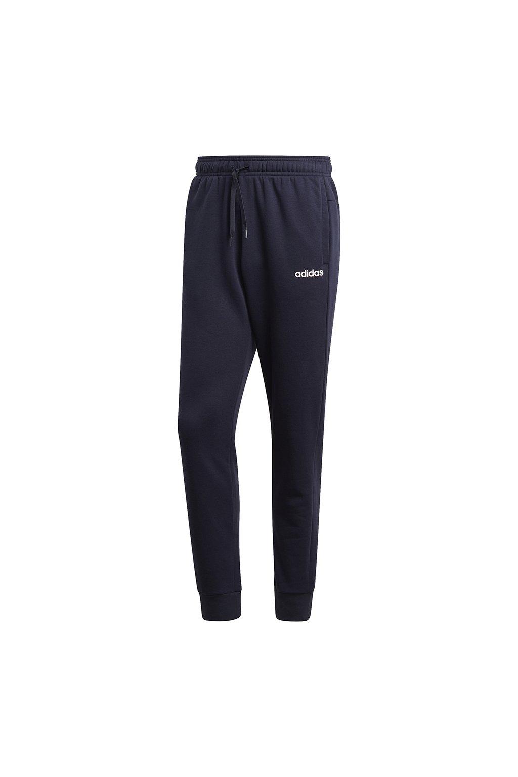 Pánske tepláky Adidas Essentials Plain Pants FL tmavo modré DU0376