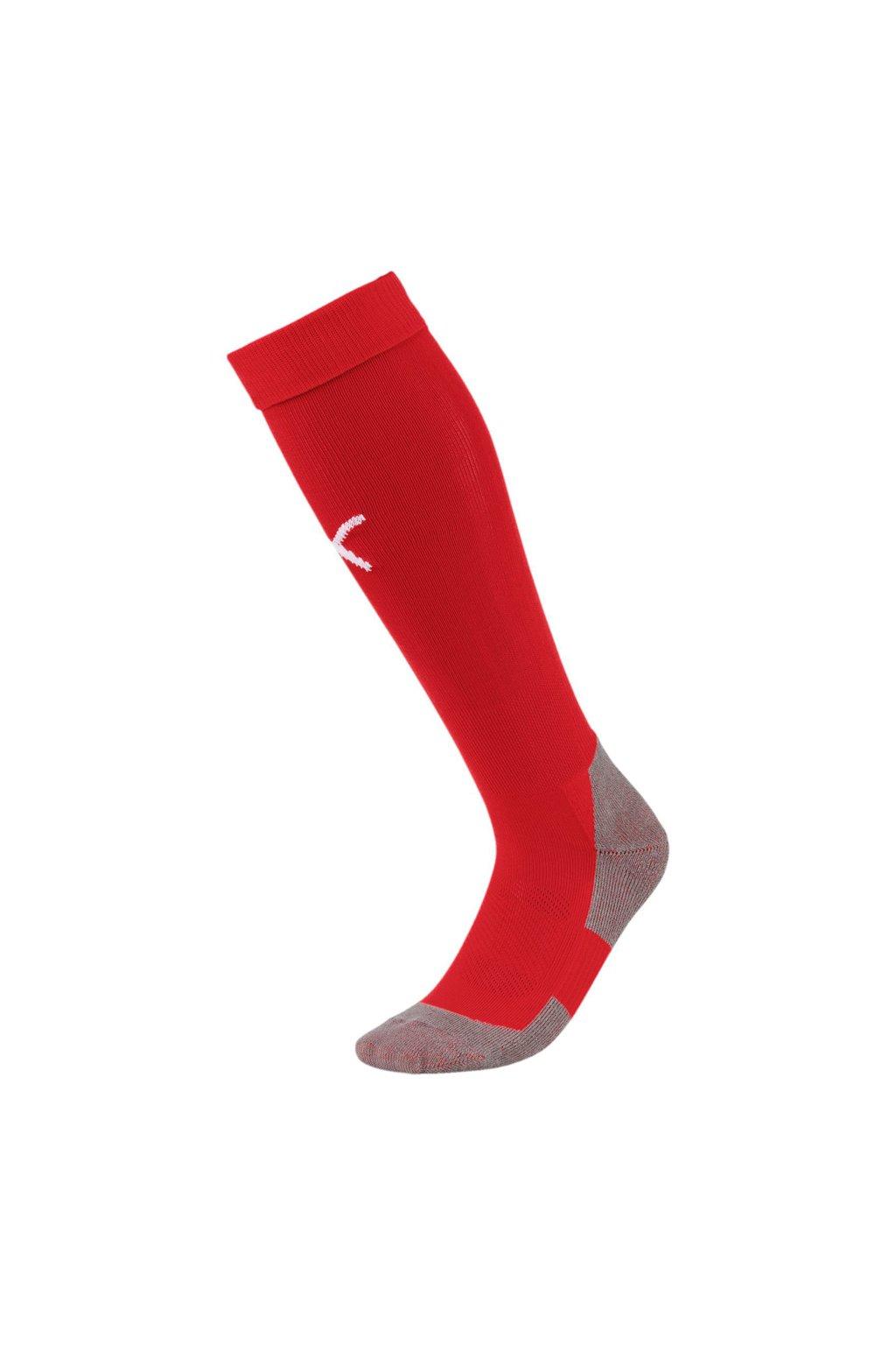 Futbalové ponožky Puma Liga Core Socks červené 703441 01