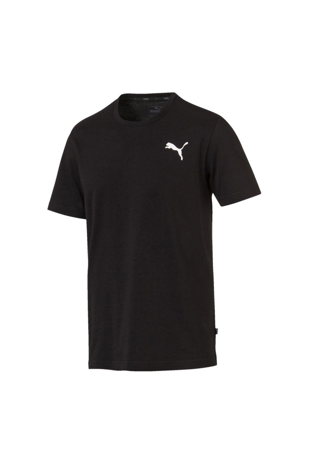 Pánske tričko Puma ESS Small Logo Tee čierne  851741 21