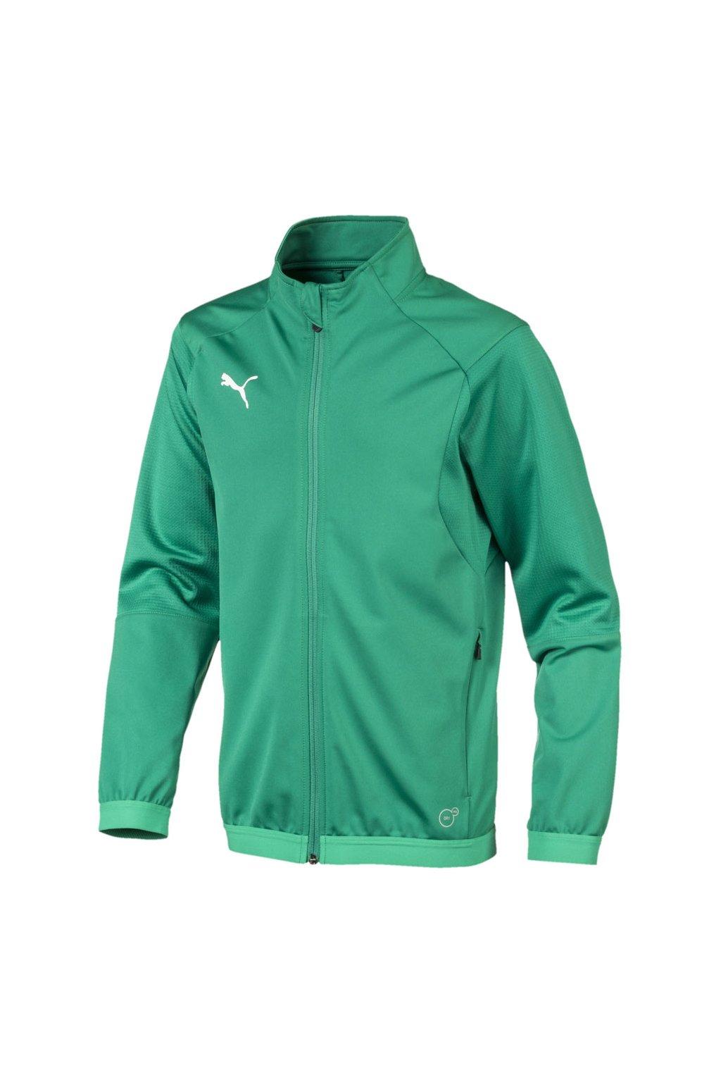 Detská mikina Puma Liga Training Jacket JUNIOR zelená 655688 05
