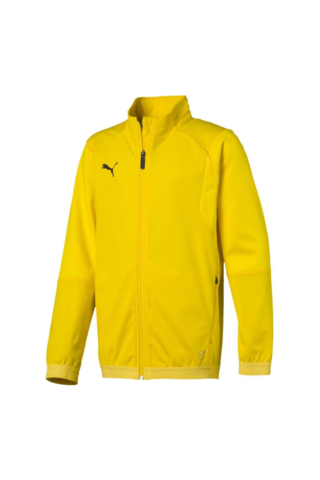 Detská mikina Puma Liga Training Jacket JUNIOR žltá 655688 07