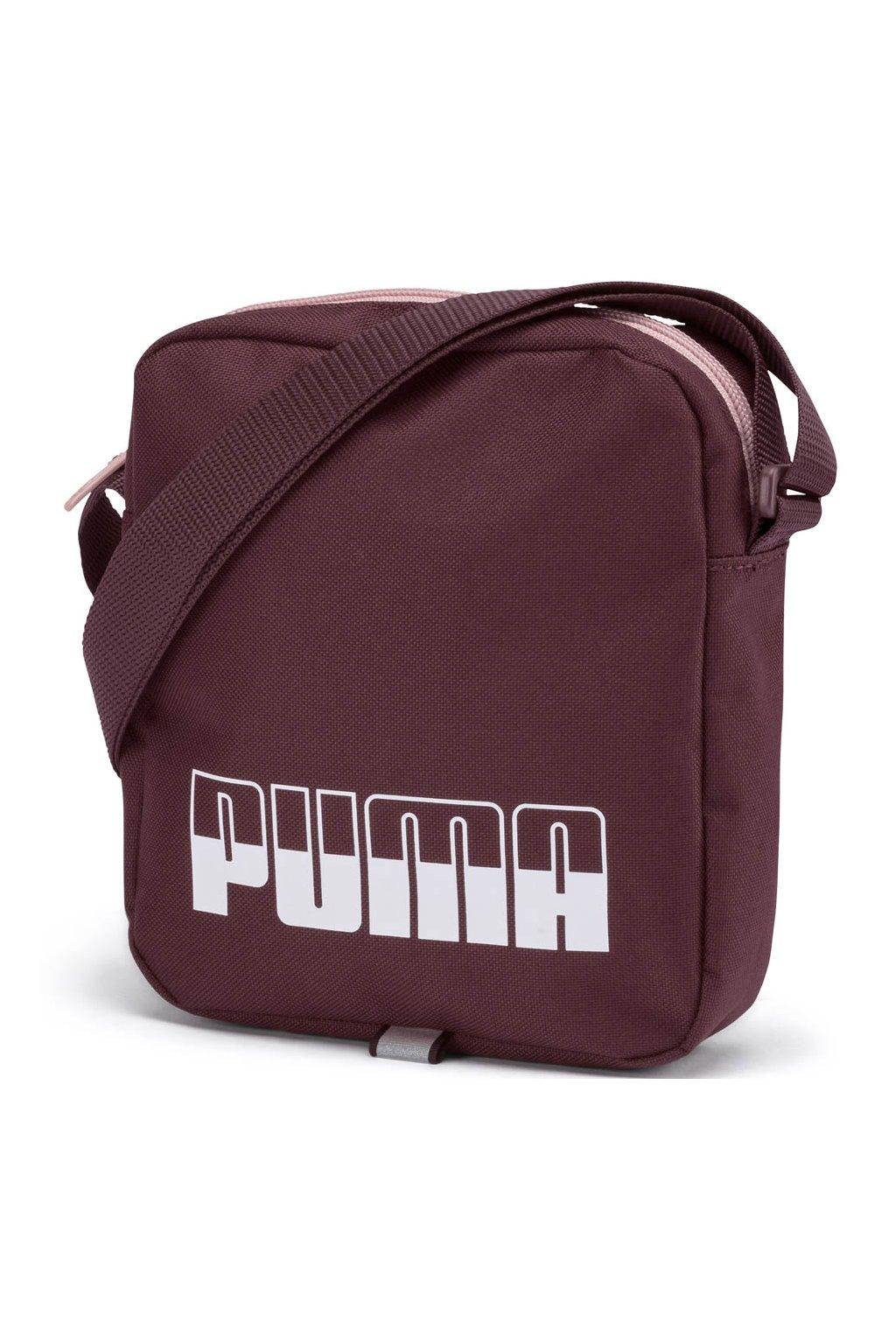 Taška Puma Plus II bordová 076061 08