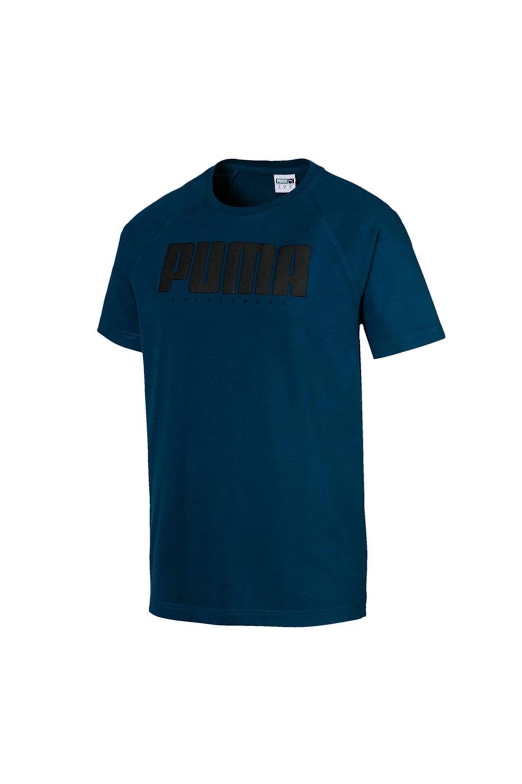 Pánske tričko Puma Athletics Tee modré 580134 38