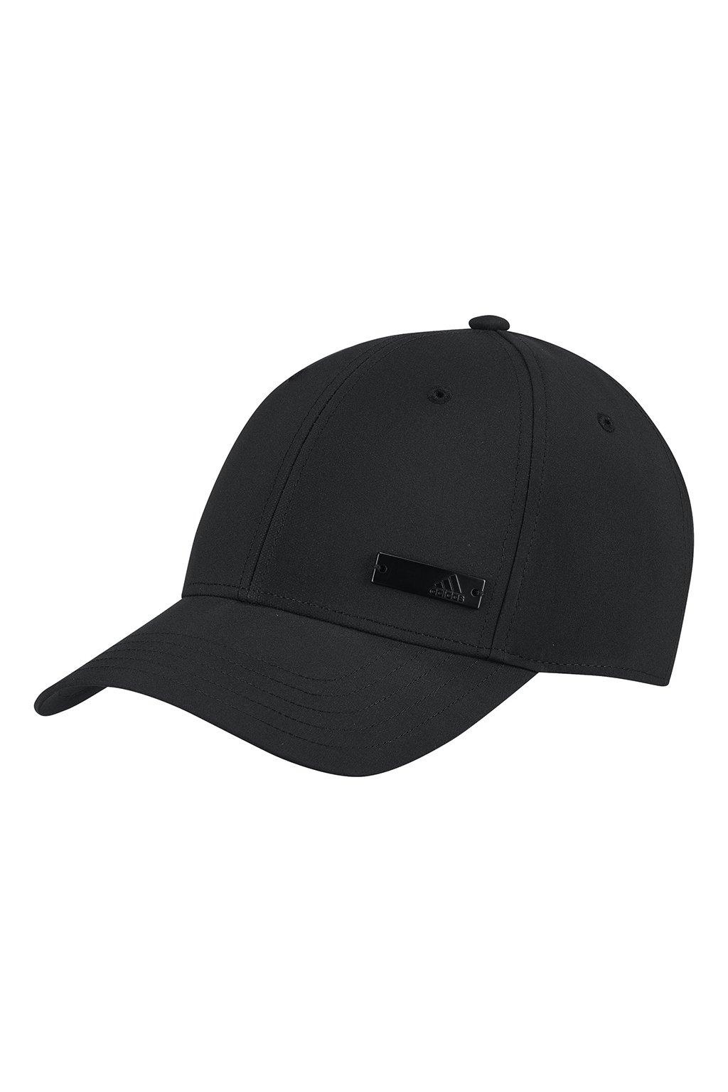 Juniorská šiltovka Adidas Baseball Lightweight Cap LT Met OSFY čierna FK0850