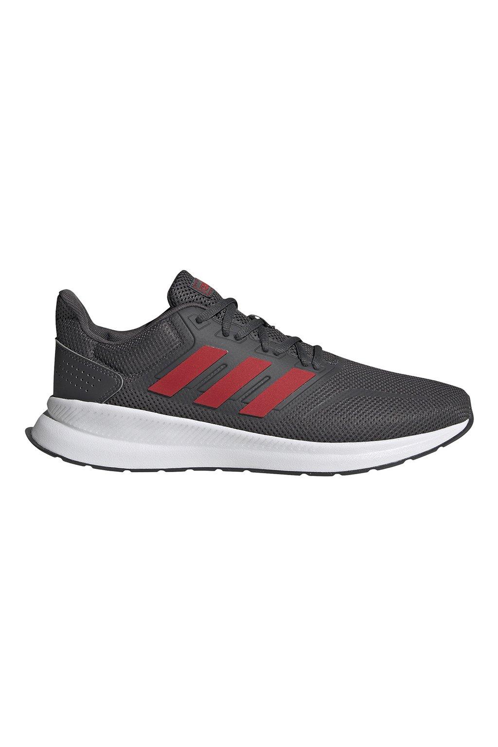 Pánske tenisky adidas Runfalcon šedo-červené EG8602
