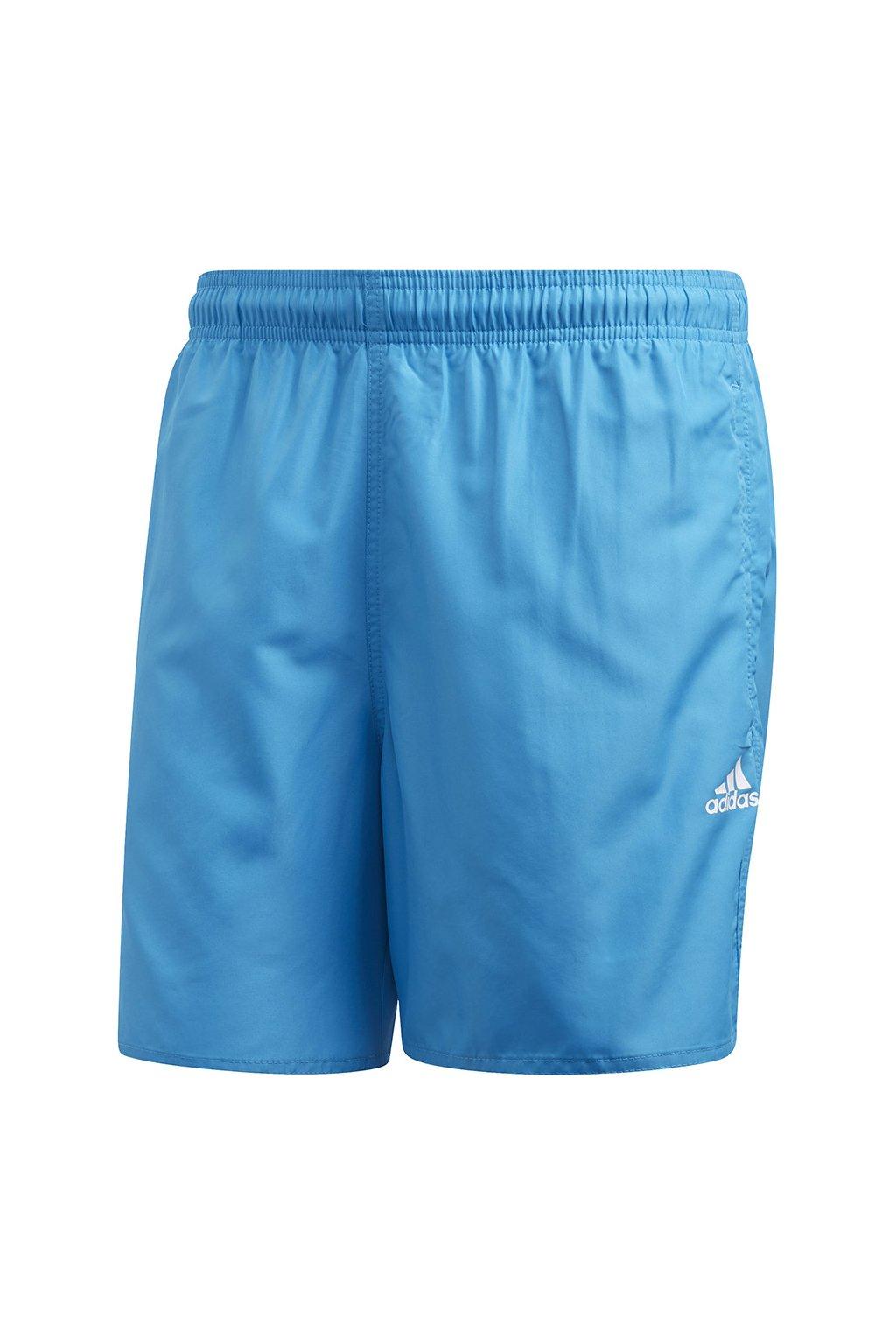 Pánske kúpacie šortky Adidas Solid CLX SH SL, modré FJ3381