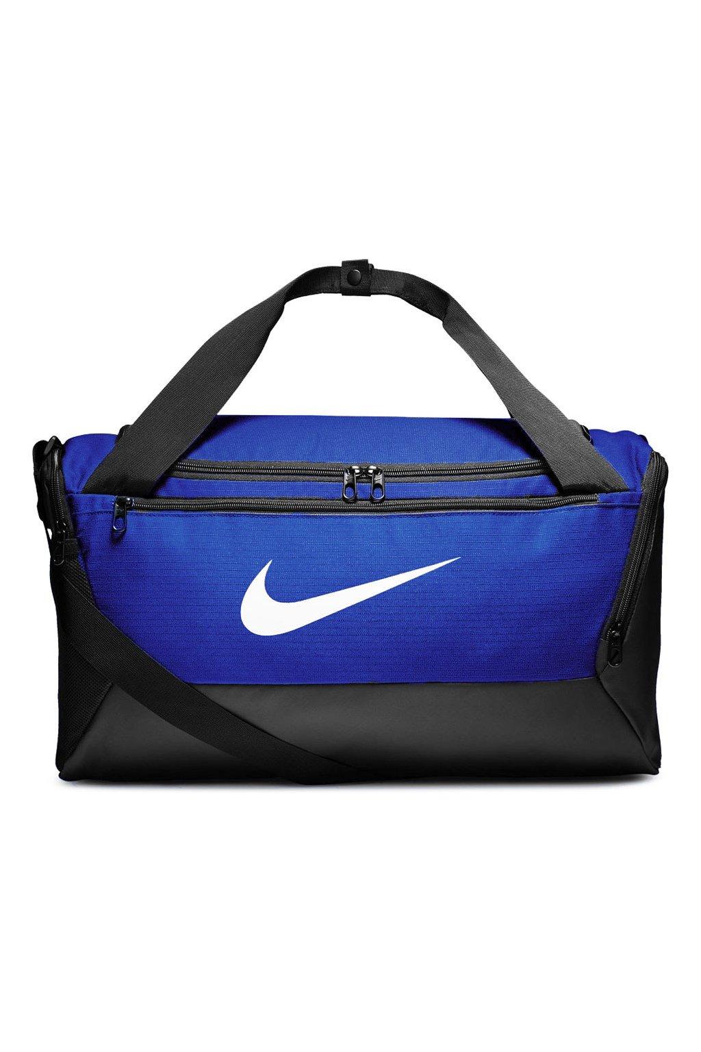 Taška Nike Brasilia S Duffel 9.0 modrá BA5957 480
