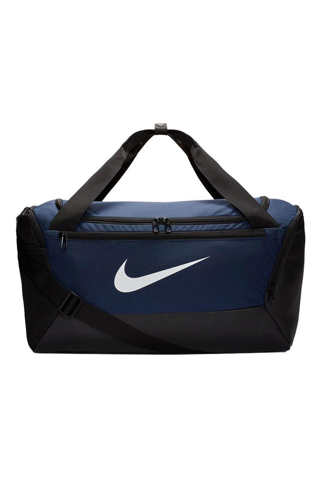 Taška Nike Brasilia S Duffel 9.0 tmavo modrá BA5957 410