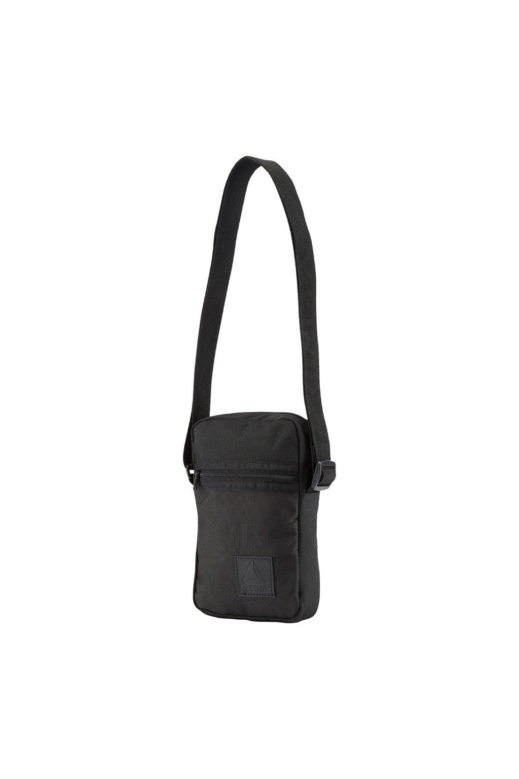 Taška Reebok Style Foundation City Bag čierna DM7176