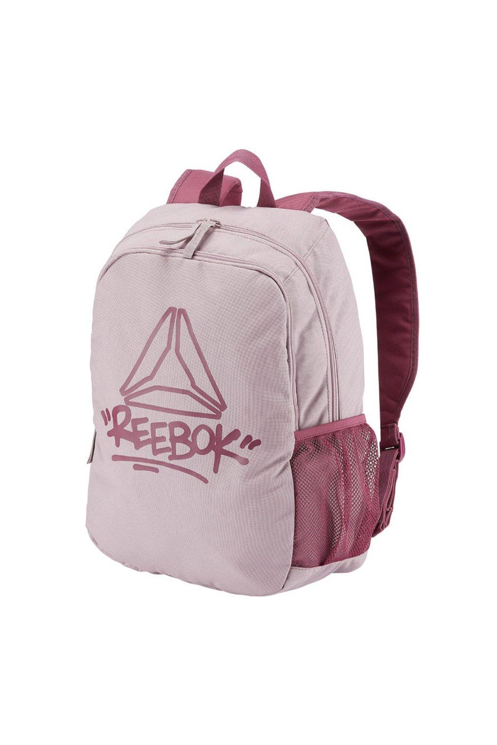 Dievčenský batoh Reebok Kids Foundation ružový DA1670