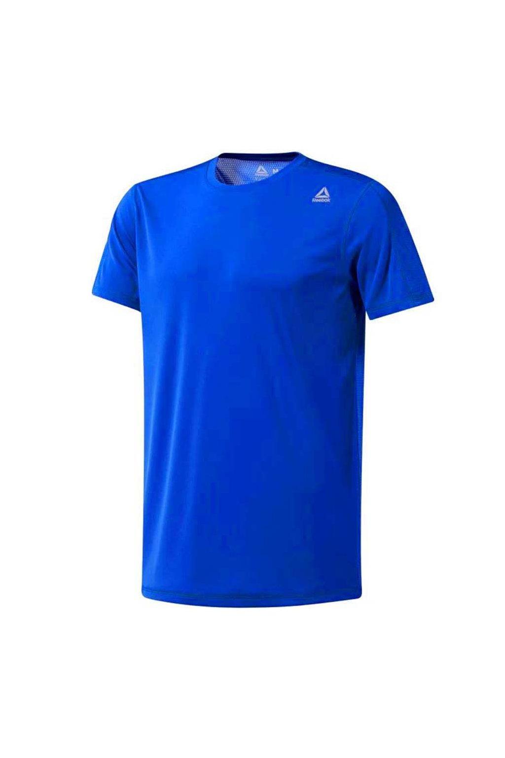 Pánske tričko Reebok Workout Tech Top modré DU2134