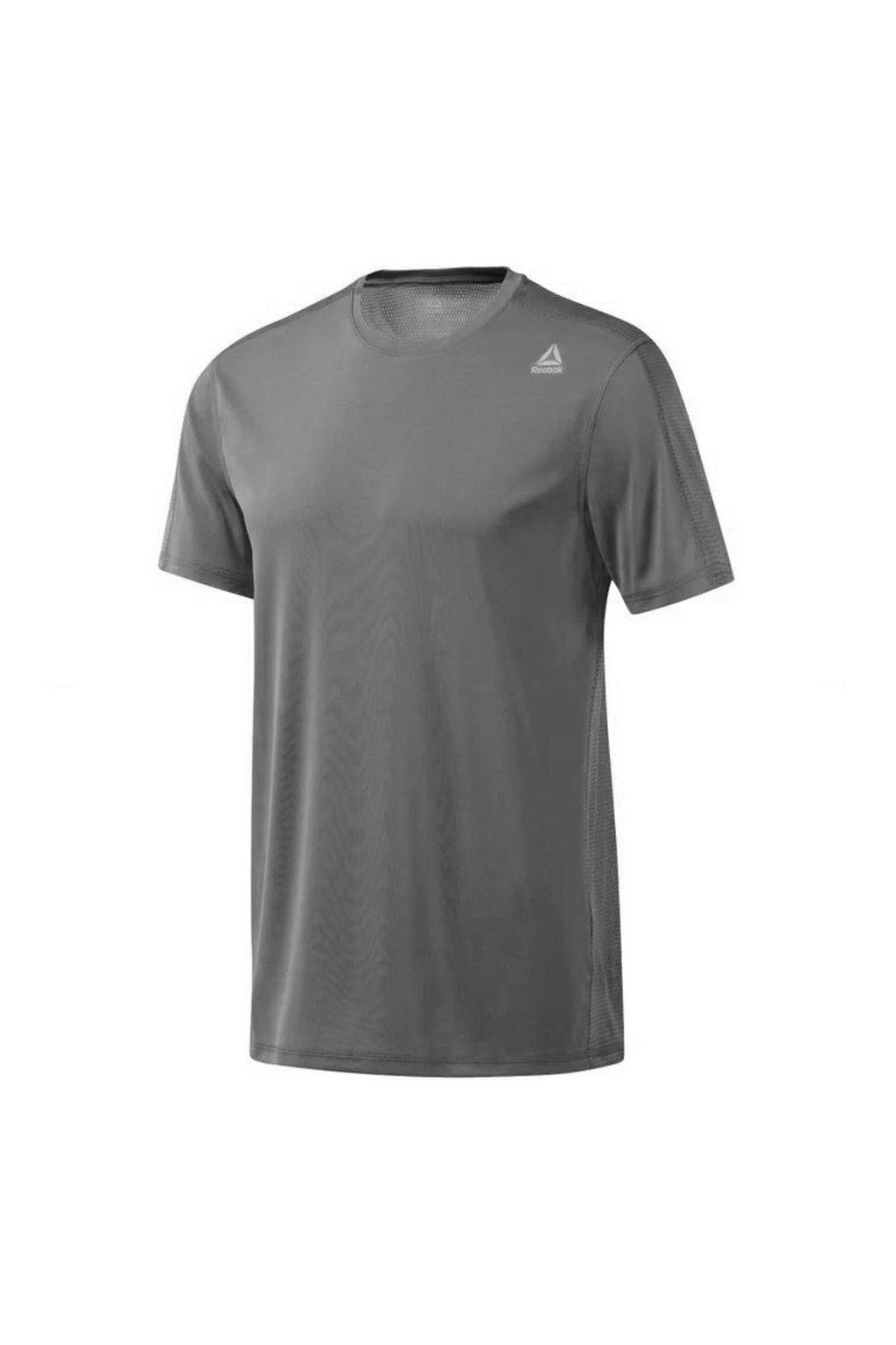Pánske tričko Reebok Workout Tech Top šedé DU2136