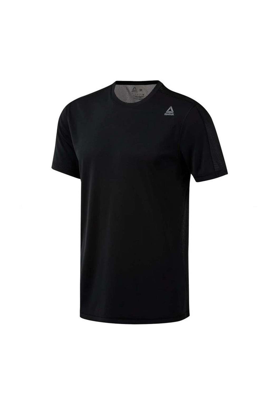 Pánske tričko Reebok Workout Tech Top čierne DU2183