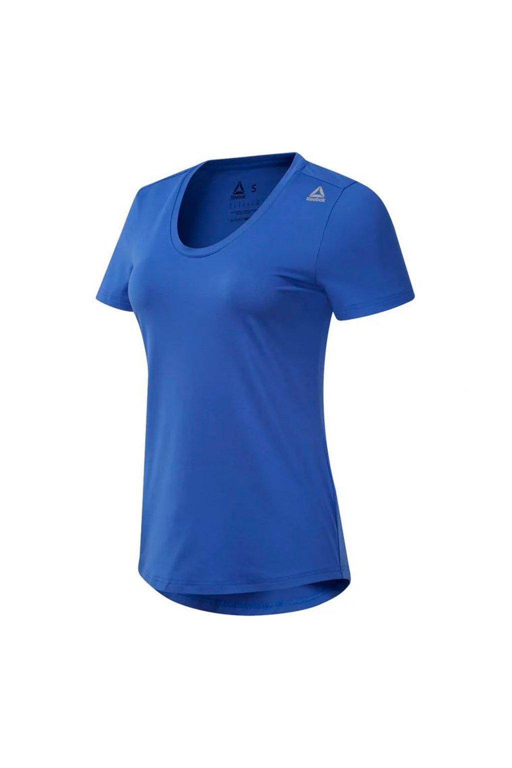 Dámske tričko Reebok Wor SW Tee modré DU4761