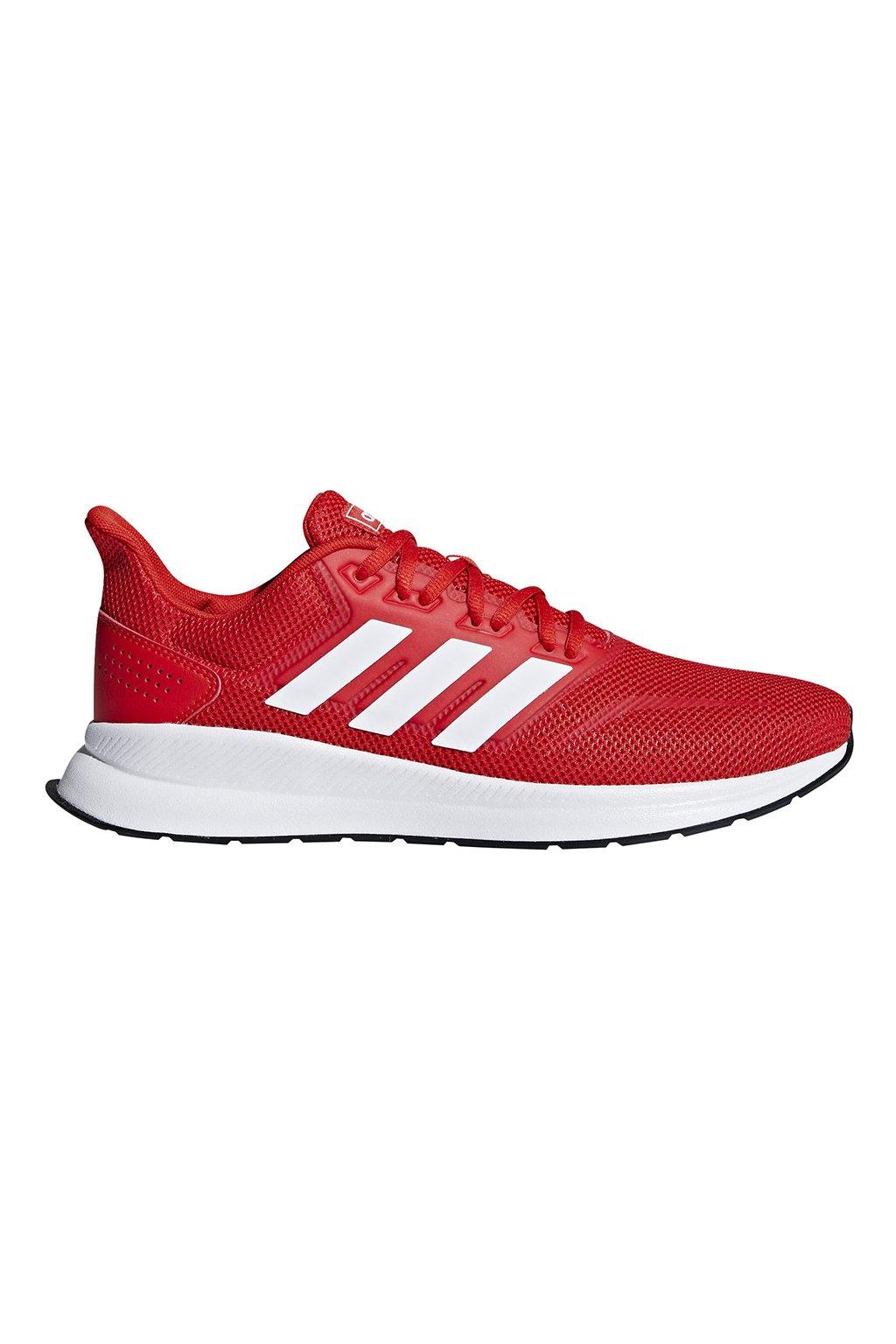 Pánske tenisky Adidas Runfalcon červené F36202