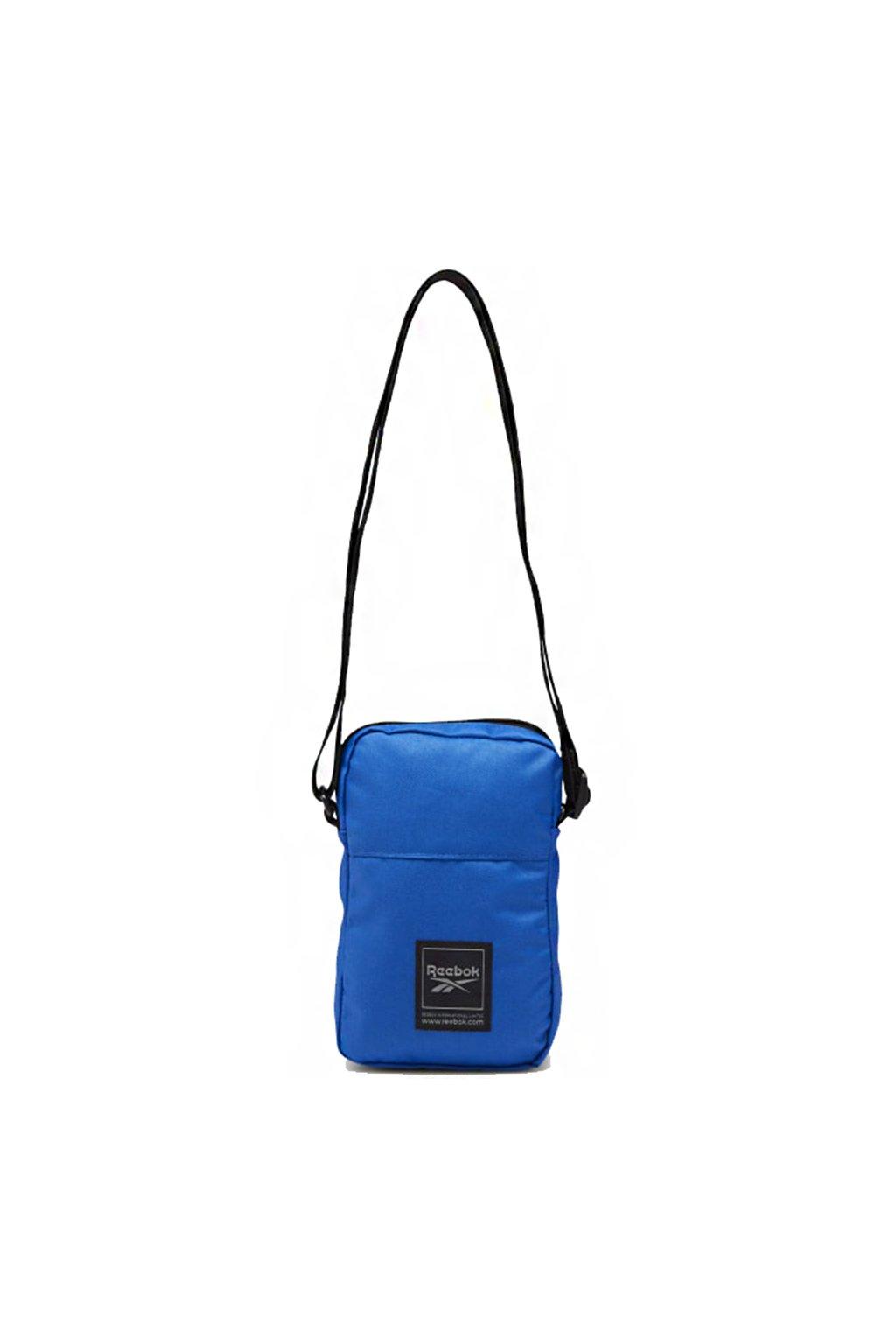Taška na rameno Reebok Workout City Bag modrá FQ5289