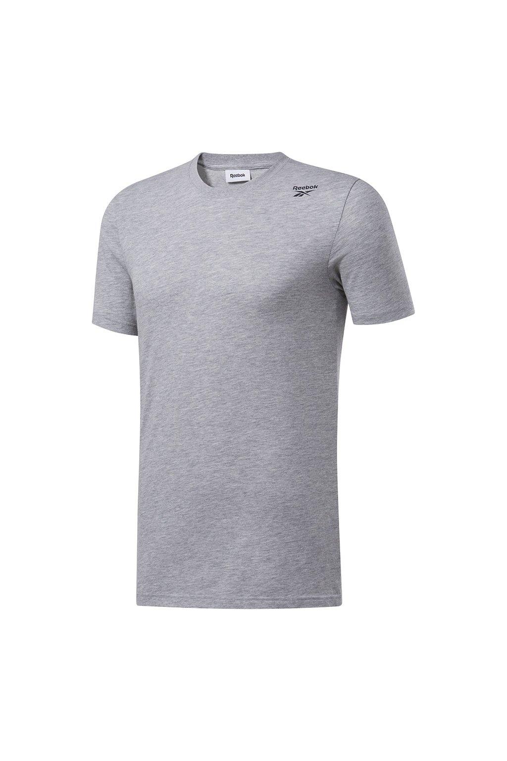 Pánske tričko Reebok Training Essentials SL Classic Tee šedé FP9183