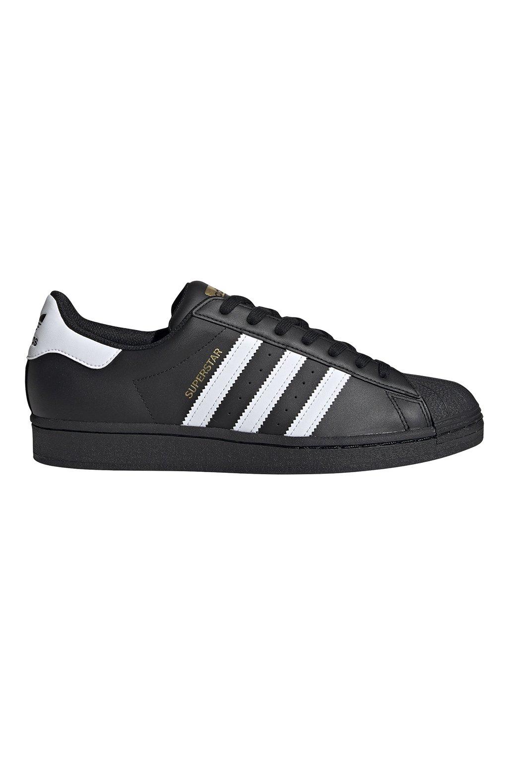 Pánska obuv Adidas Superstar čierno biele EG4959