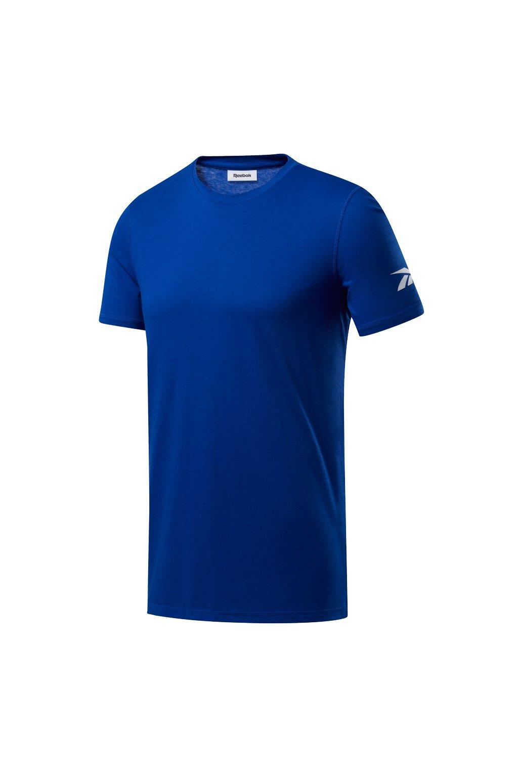 Pánske tričko Reebok Wor We Commercial SS Tee modré FP9100