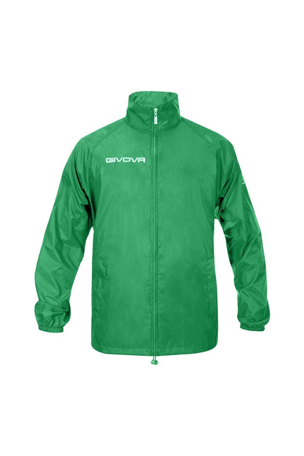 Bunda Givova Rain Basico zelená RJ001 0013