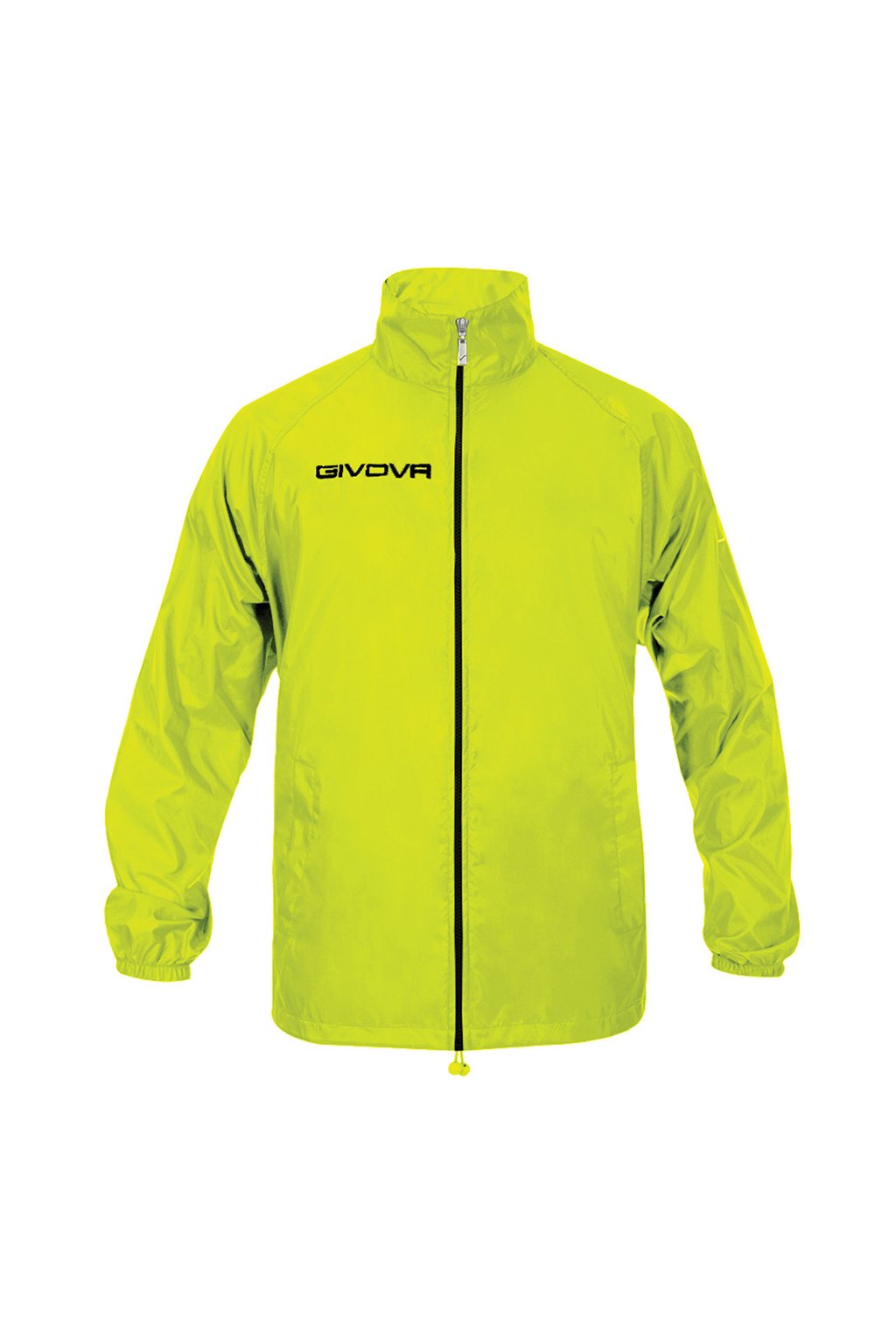 Bunda Givova Rain Basico Fluo žltá RJ001 0019