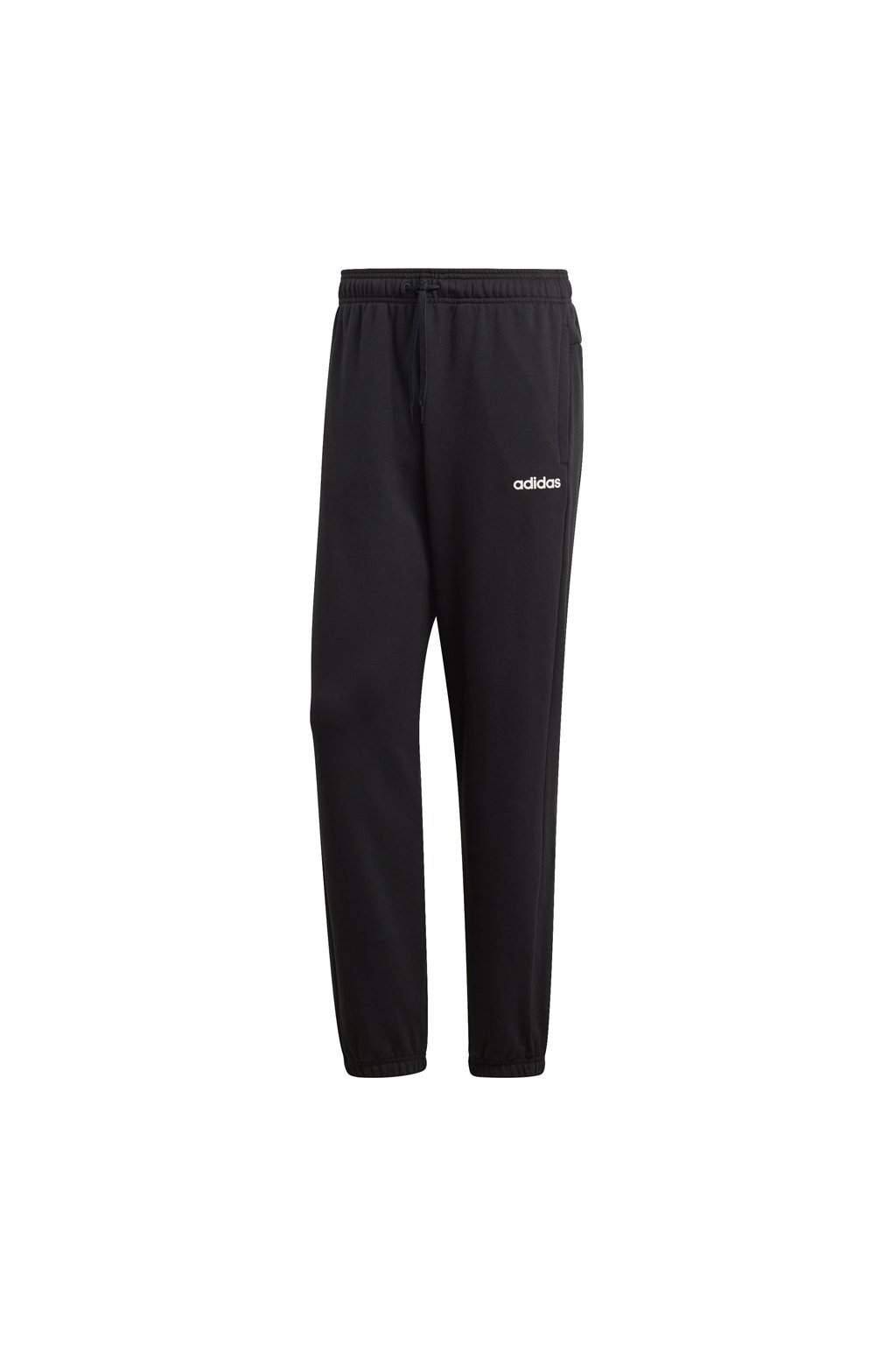 Pánske tepláky adidas Essentials Plain Slim Pant FT čierne DU0371