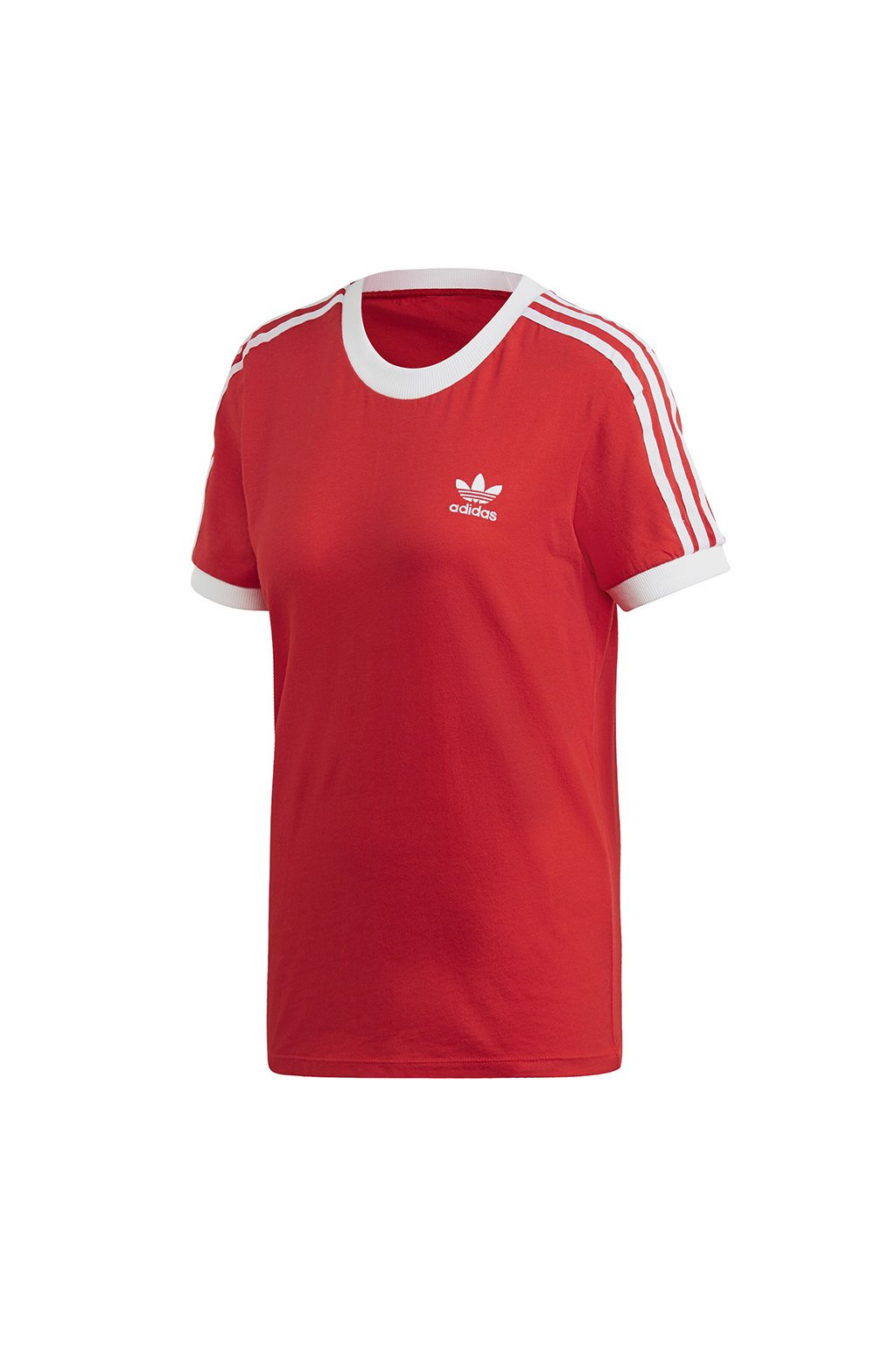 Dámske tričko Adidas 3 Stripes Tee W červené FM3318
