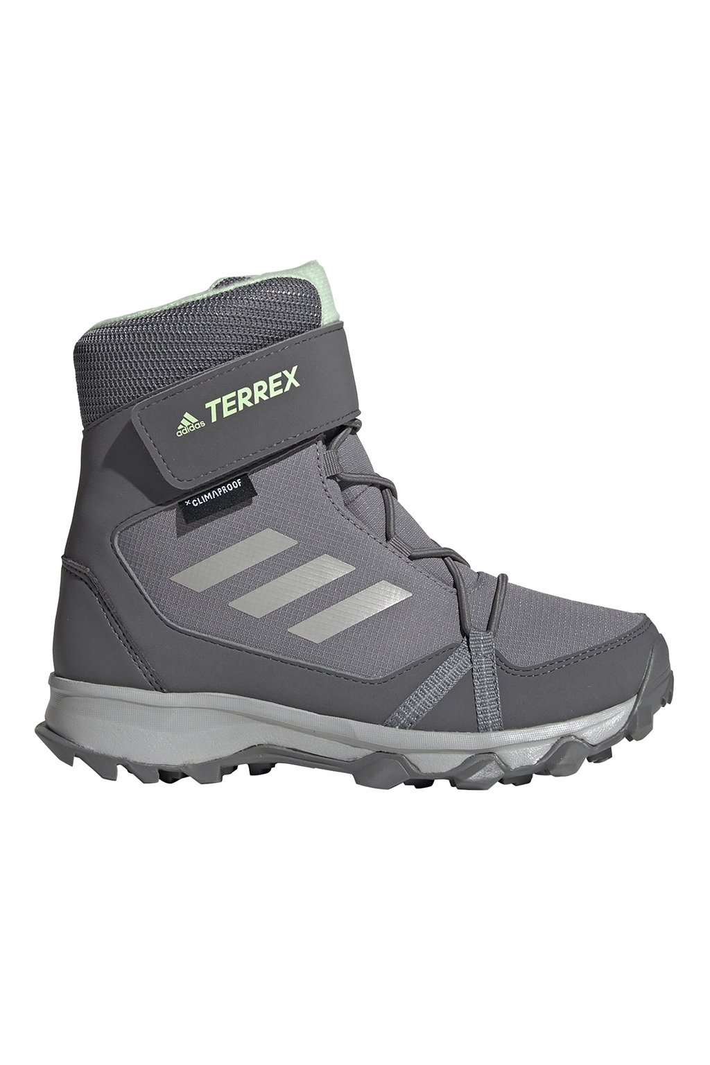 Detská športová obuv adidas Terrex Snow CF R.RDY K sivé G26580