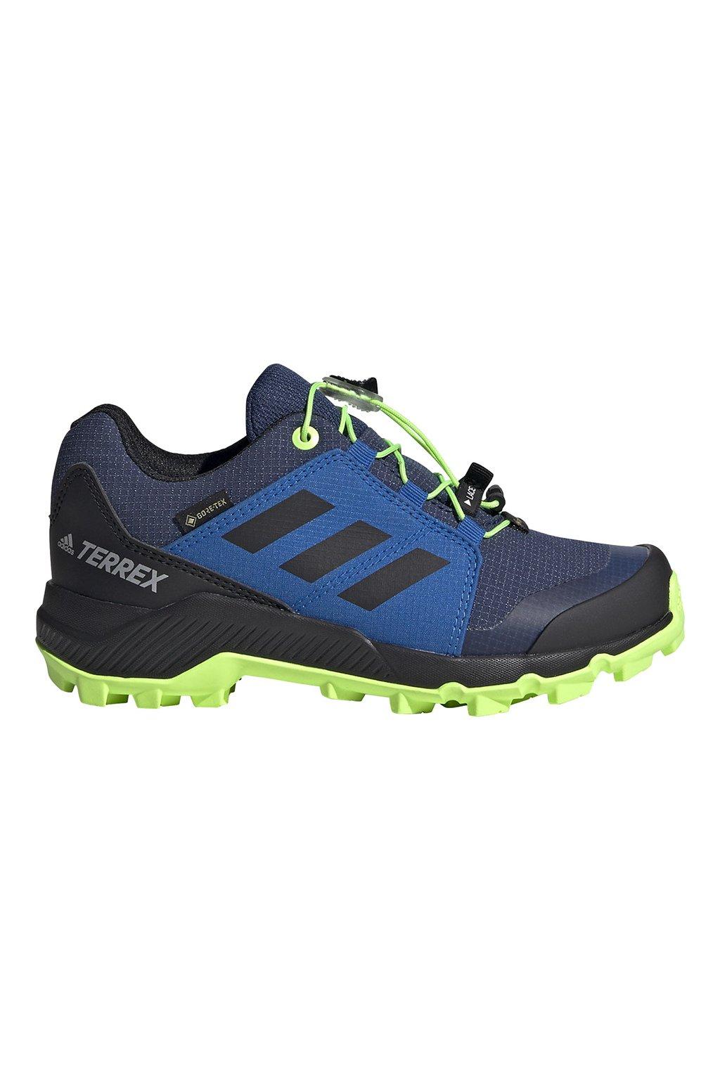Buty dla dzieci adidas Terrex GTX K granatowo-niebieskie EF2231