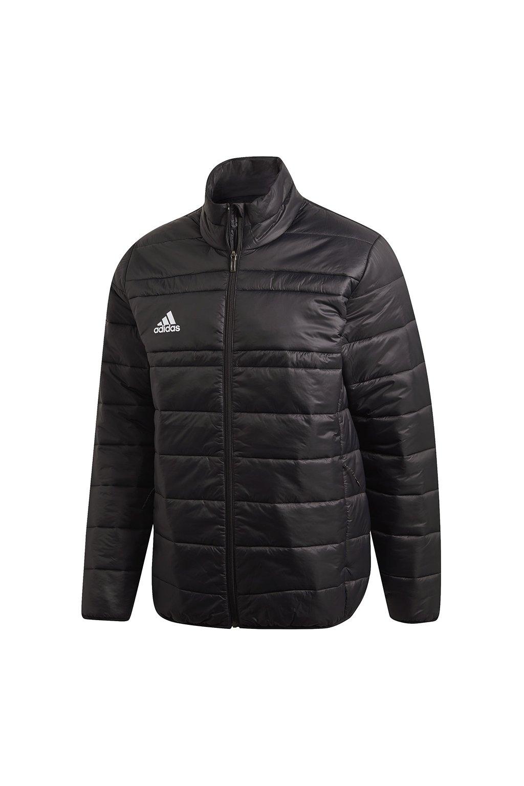 Pánska bunda adidas Light Padding Jacket 18 čierna FT8073