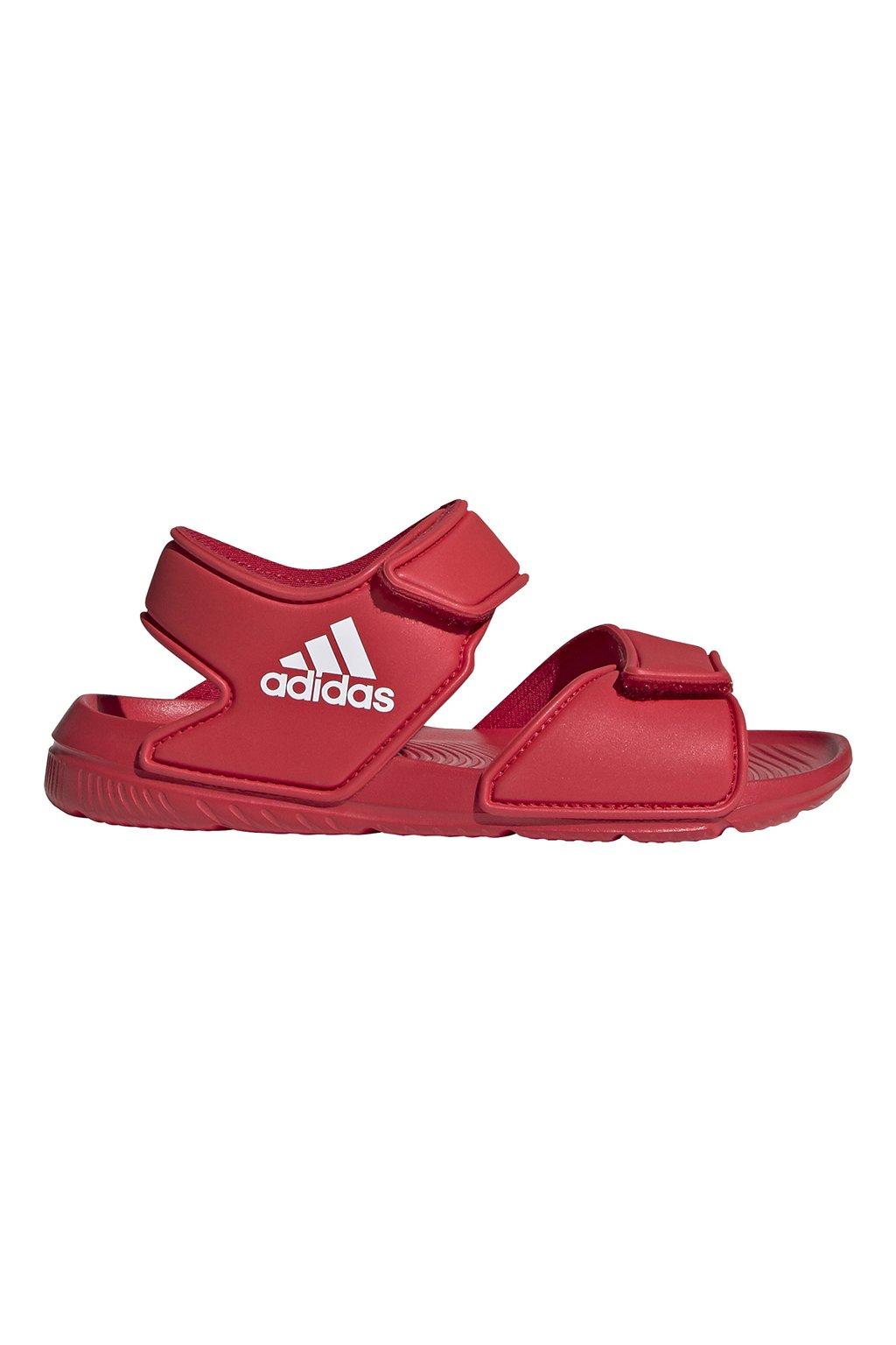 Detské sandále Adidas Altaswim C červené EG2136