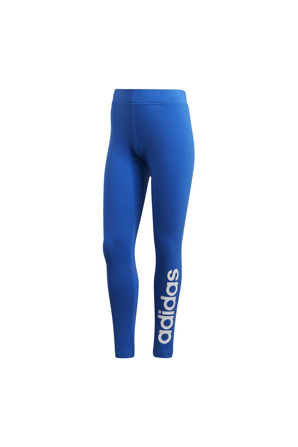 Dámske legíny Adidas W Essentials Linear Tight modré FM6692