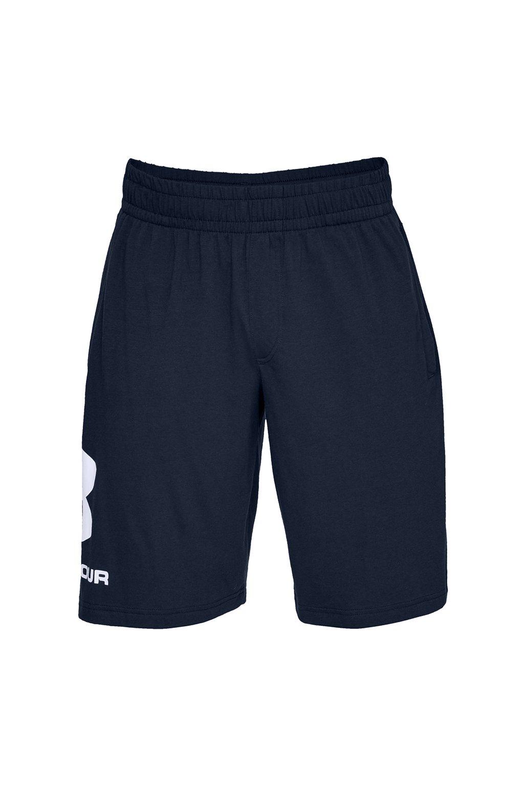 Pánske kraťasy Under Armour Sportstyle Cotton Logo tmavo modré 1329300 408