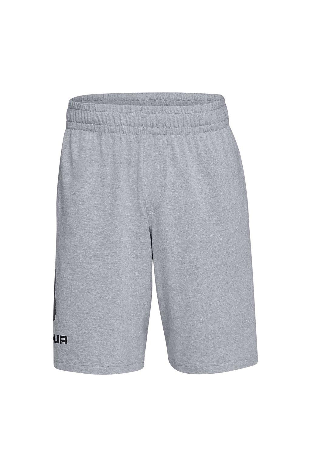 Pánske kraťasy Under Armour Sportstyle Cotton Logo sivé 1329300 035