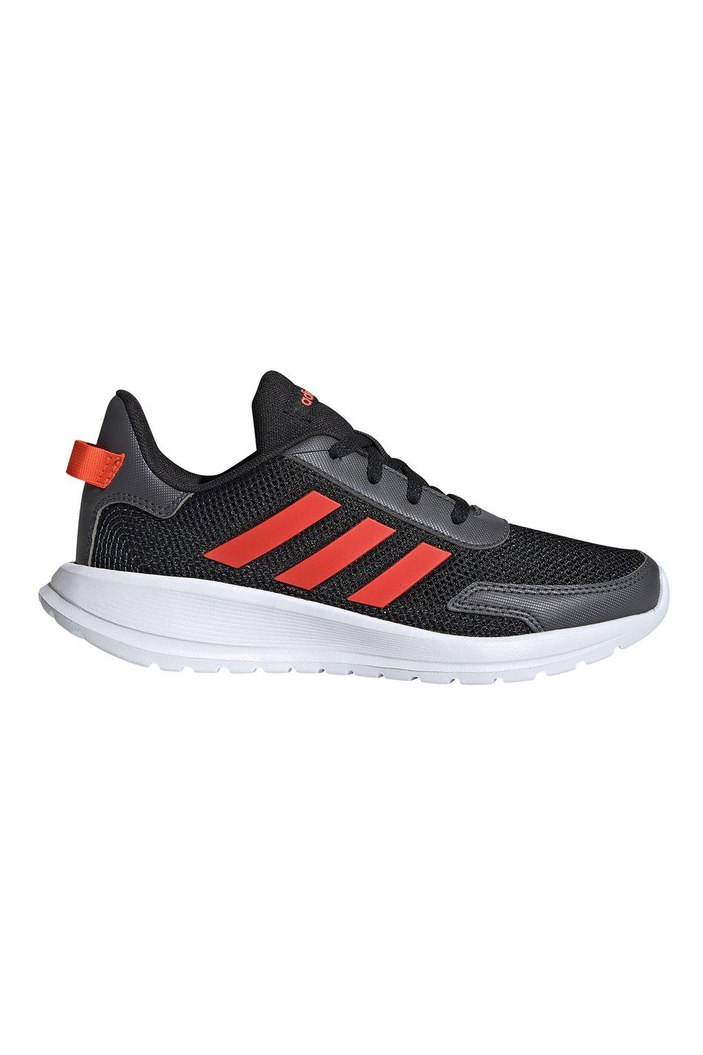 Detská obuv Adidas Tensaur Run K čierno-oranžová EG4124