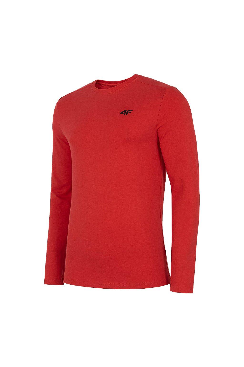 Pánske tričko 4F červené NOSH4 TSML001 62S