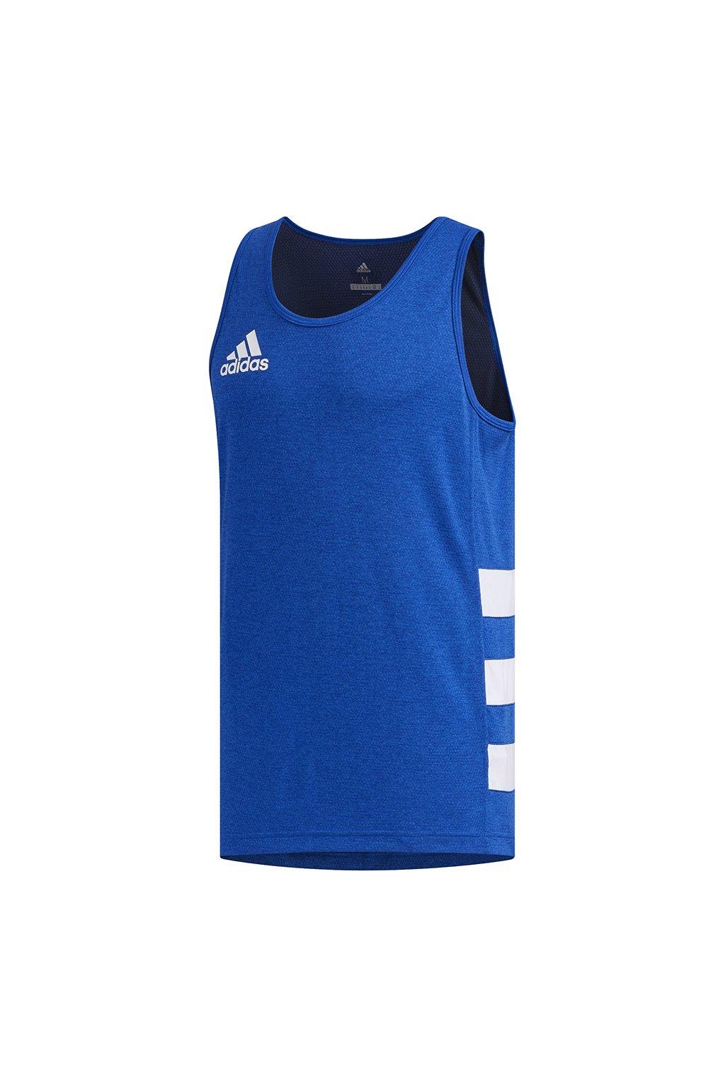 Pánske tričko adidas Rugby Singlet modrá FM4137